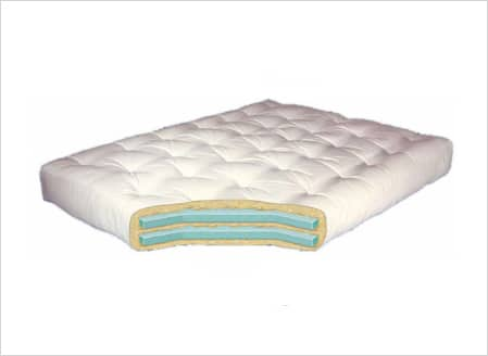 Gold Bond Double Foam Futon Mattress - 10``