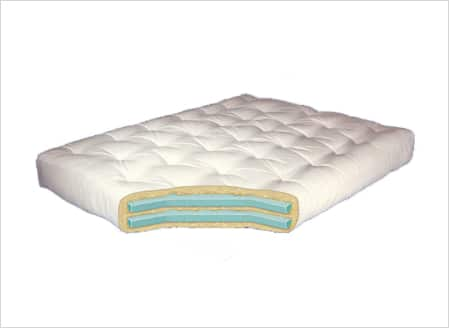 Gold Bond Double Foam Futon Mattress - 8``
